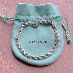 Authentic Tiffany & Co. rope bracelet